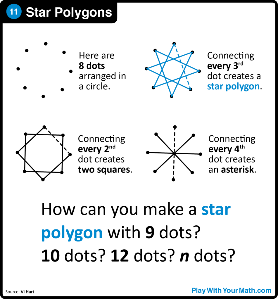 11-Star Polygons Sq
