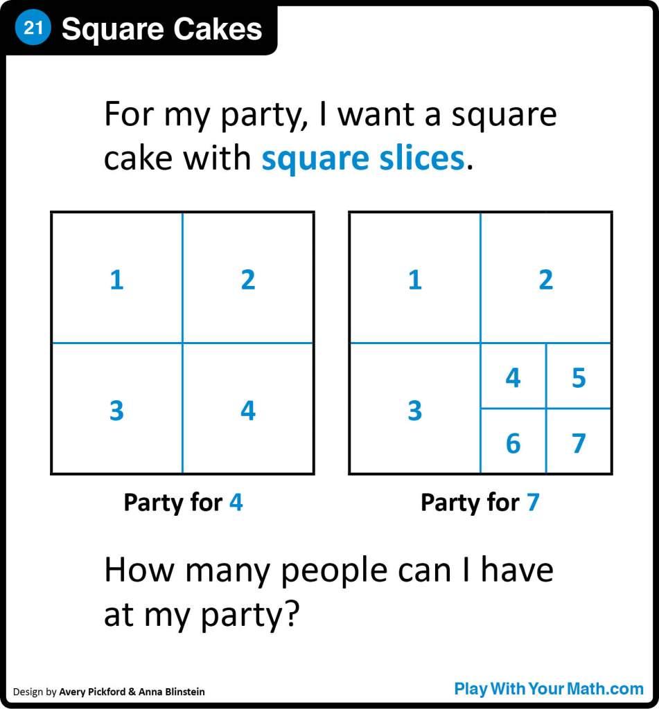 21-Square Cakes Sq